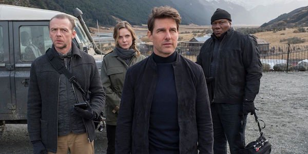 Ethan Hunt and his crew in Mission: Impossible - Fallout