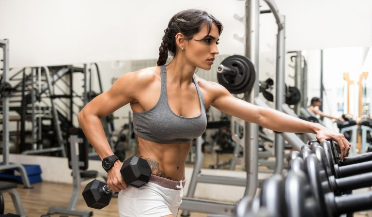 10-minute dumbbell workout