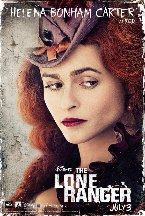 The Lone Ranger Helena Bonham Carter Poster