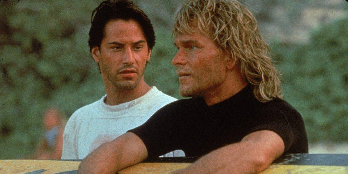 Keanu Reeves, Patrick Swayze - Point Break