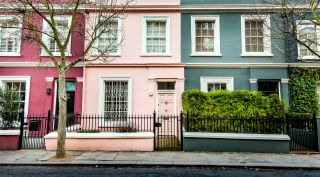 old terraced houses in London