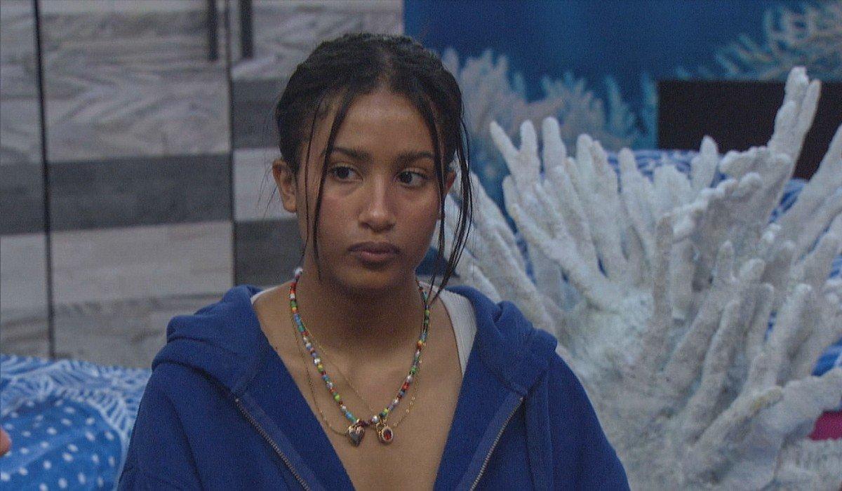 Hannah looking mad Big Brother CBS
