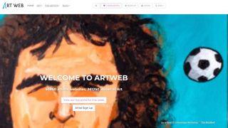 Sell design work online: Artweb