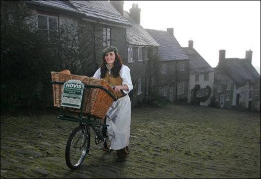 Victoria Pendleton Hovis 2010