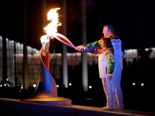 Sochi Winter Olympics 2014 Cauldron Lighting
