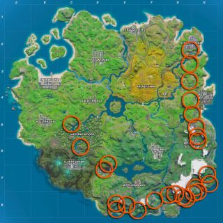 Fortnite Ziplines: Where to find ziplines around the island to complete the Chaos Rising challenge