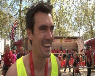 Emmerdale star Jeff tearful after London Marathon