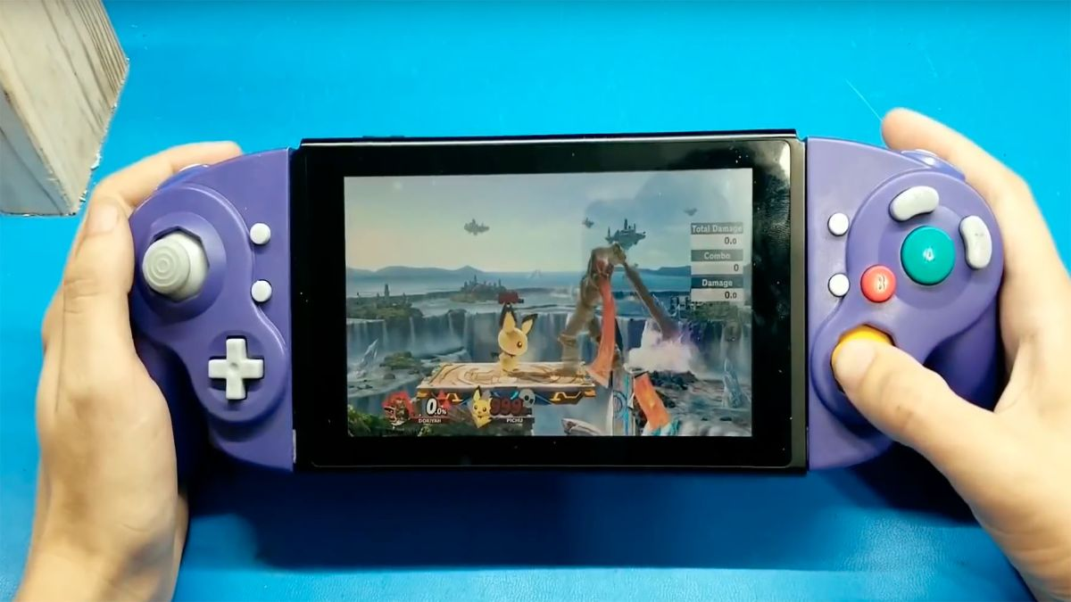 This modder gave the Switch Joy-Cons a GameCube makeover, and it looks amazing