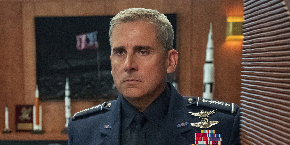 Is Steve Carell's Space Force Safe From An Early Netflix Cancellation?