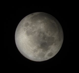 Photographer David Matthews snapped this photo of the penumbral lunar eclipse of Nov. 28, 2012, from Cagraray Island, Philippines.