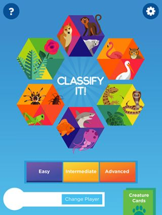 Life Science App Teaches Classification Skills