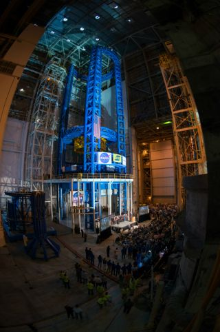 Vertical Assembly Center at NASA's Michoud Assembly Facility