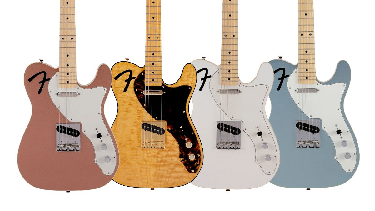 Fender Japan debuts limited-edition Thinline Telecaster models with literal 'F'-holes