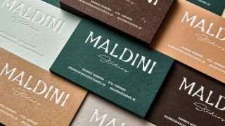 These gorgeous letterpress business cards are sure to impress all who see them.