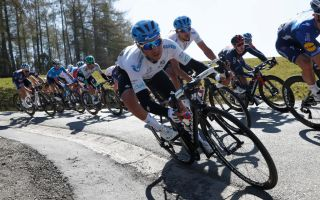 LIEGE BELGIUM APRIL 25 Simone Velasco of Italy and Team Gazprom Rusvelo during the 107th Liege Bastogne Liege 2021 Mens Elite a 2595km race from Bastogne to Lige LBL on April 25 2021 in Liege Belgium Photo by Bas CzerwinskiGetty Images