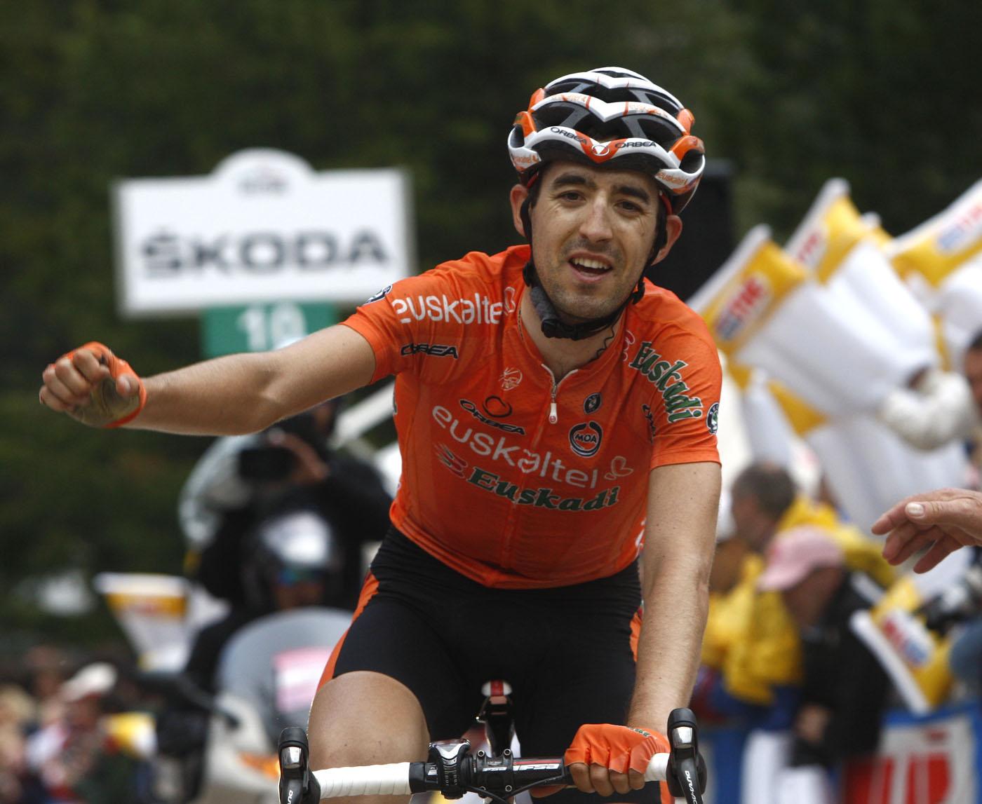 Mikel Nieve wins, Giro d