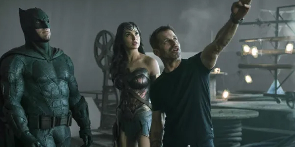 Batman Wonder Woman justice league set Zack Snyder