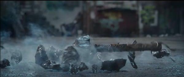 A shattered Mjolnir