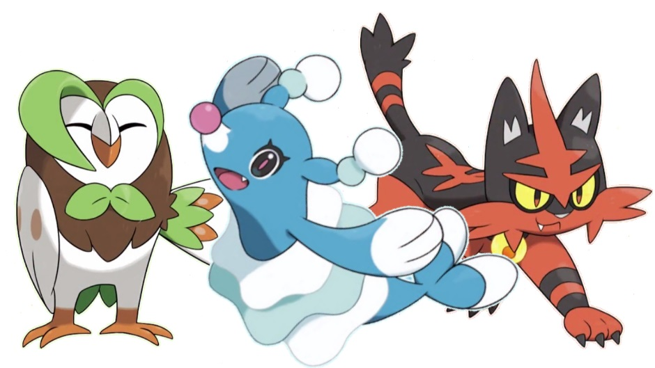 Finally The Evolved Forms Of Pokemon Sun Moons Rowlet Popplio