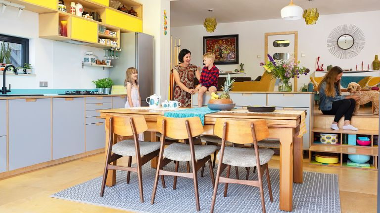 By extending at the rear, Jo and James Glossop's Cheshire home works equally well for family life and entertaining