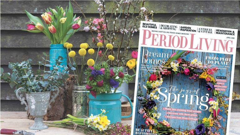 Period Living spring sale. Get 5 issues for £5