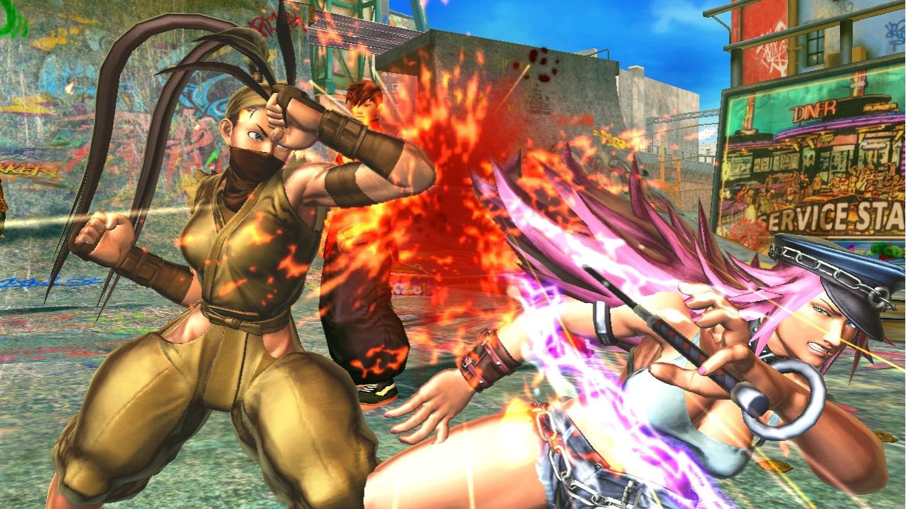 Poison in Street Fighter X Tekken