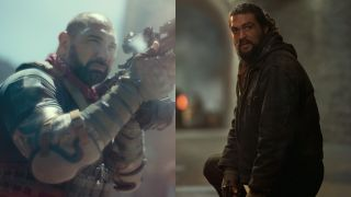 Dave Bautista in Army of the Dead and Jason Momoa in Sweet Girl