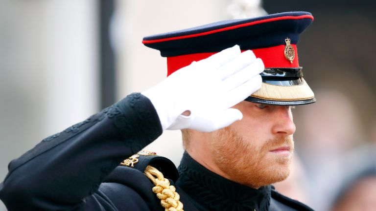 Prince Harry, Duke of Sussex attends the opening of the Field of Remembrance at Westminster Abbey on November 8, 2018 in London, England