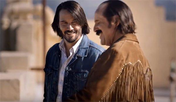 Swedish Dicks Keanu Reeves smiling Peter Stormare