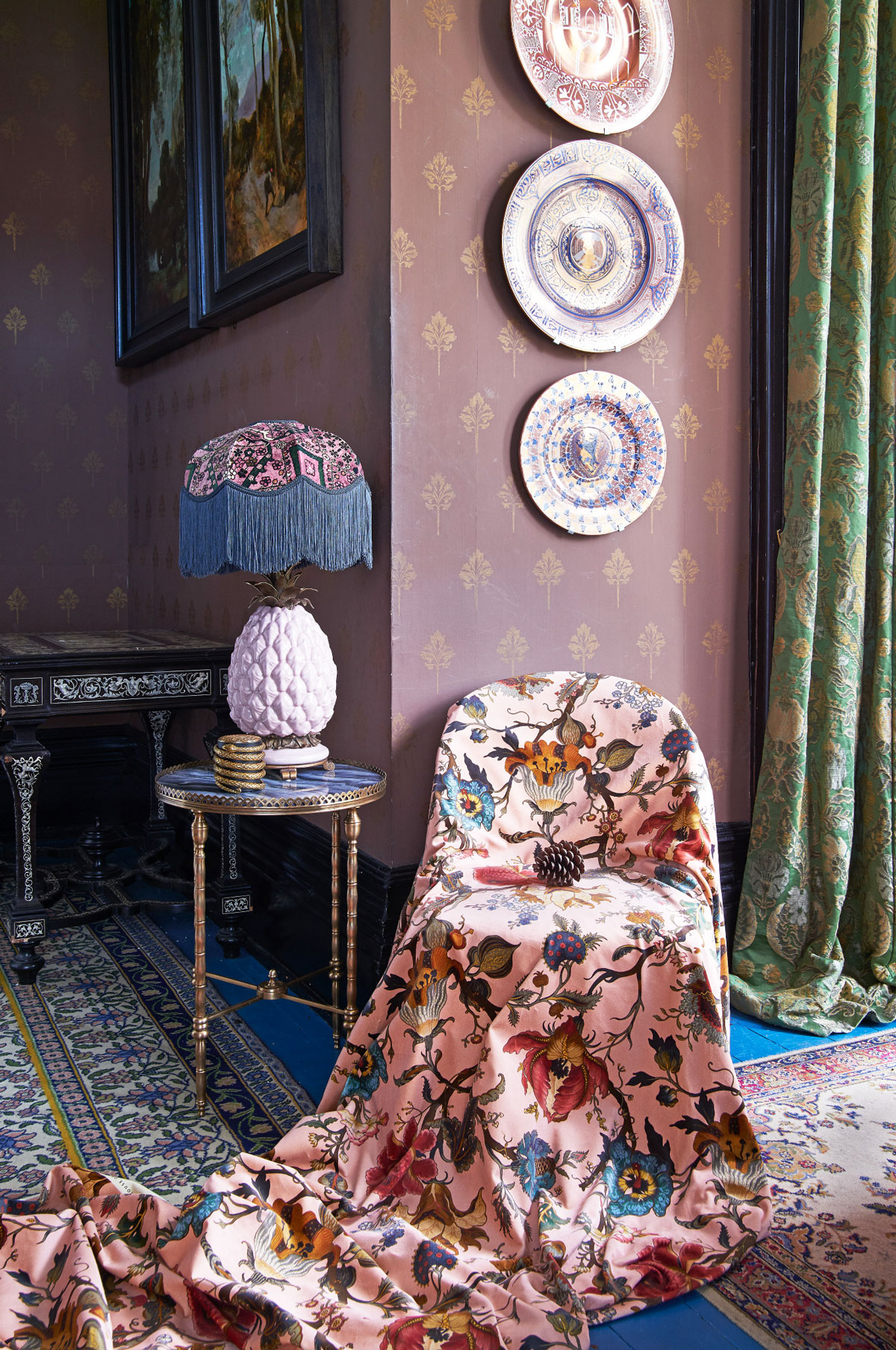 ... Hackney is unveiling a spectacular collection of wallpaper, fabric and home accessories in collaboration with historical French wallpaper house, Zuber.