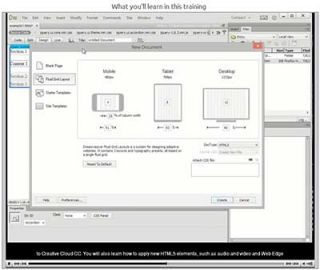 Video Tutorial: Dreamweaver Creative Cloud - What's New? Training