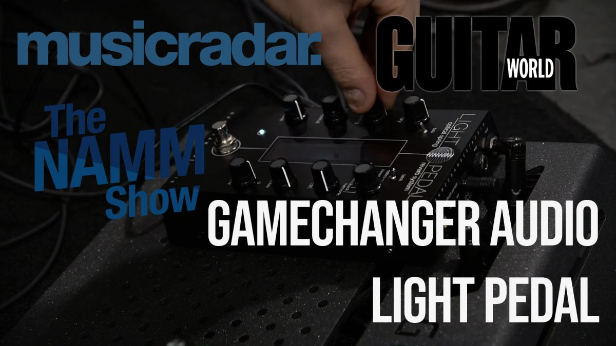 NAMM 2020 VIDEO: Gamechanger Audio unveils its Light Pedal, the first ever 'optical spring reverb'