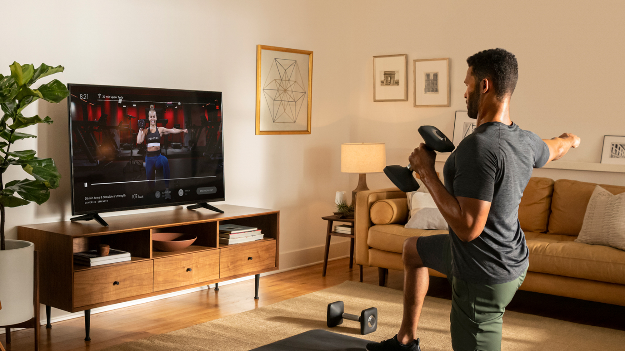 Apple Fitness Plus vs Peloton