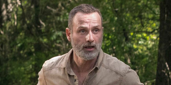 rick surprised walking dead season 9