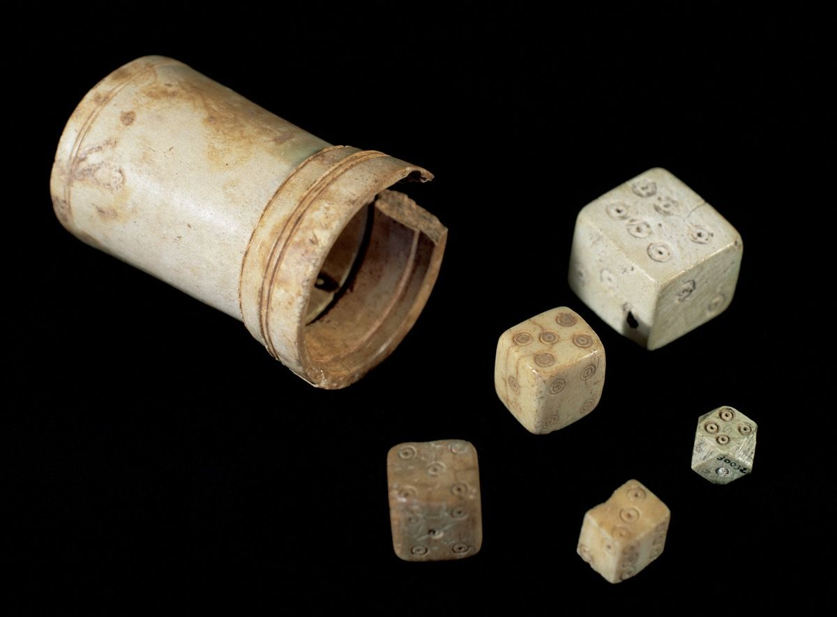 16 of the Most Interesting Ancient Board and Dice Games