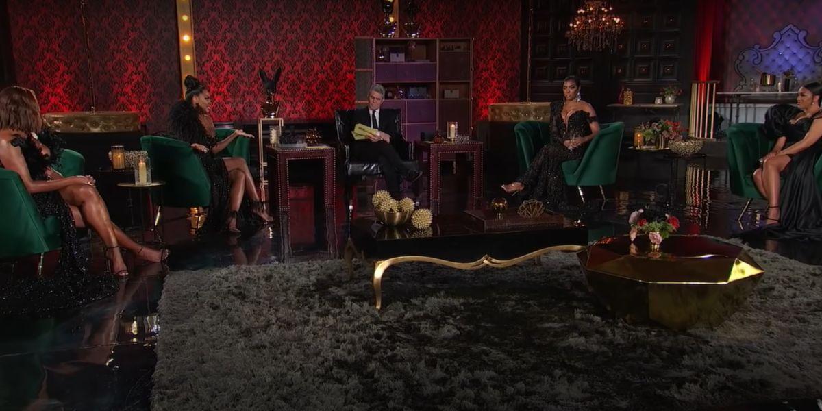 screenshot Real Housewives of Atlanta reunion