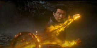 Simu Liu in Shang-Chi and the legend of the ten rings