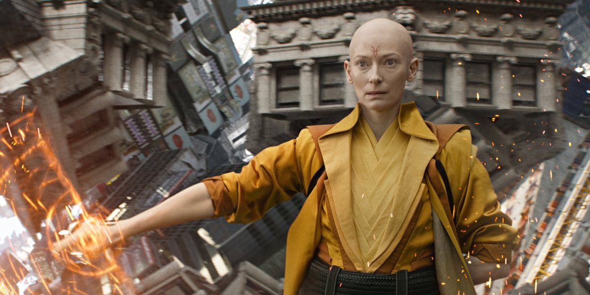 The Ancient One from Doctor Strange.
