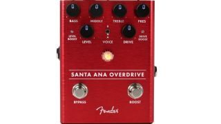 Best Drive Pedals: Fender Santa Ana Overdrive