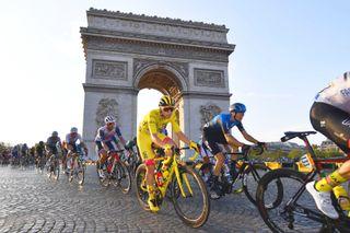 Tadej Pogacar Tour de France Paris stage 21