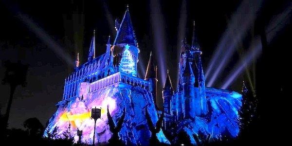 Harry Potter Universal Studios Christmas commercial