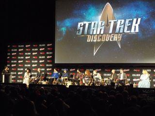 Star Trek Discovery panel