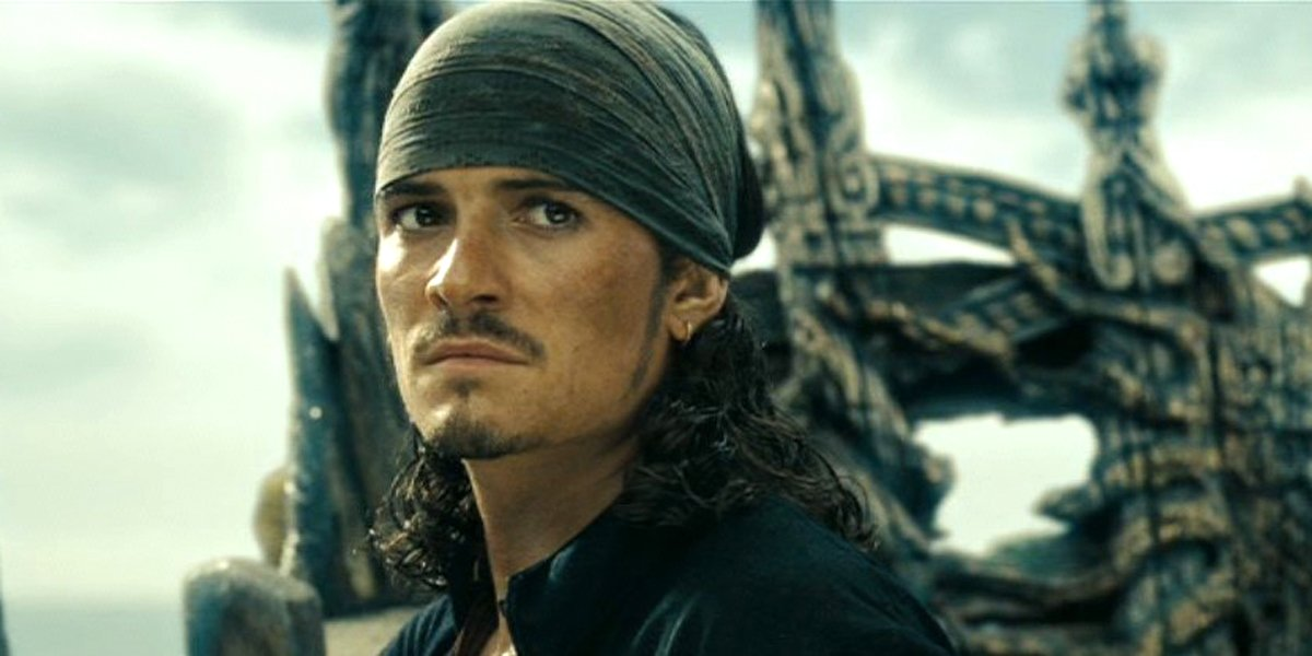 Orlando Bloom Will Turner Pirates of the Caribbean: At World's End
