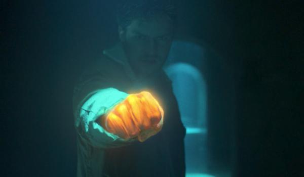 iron fist glowing