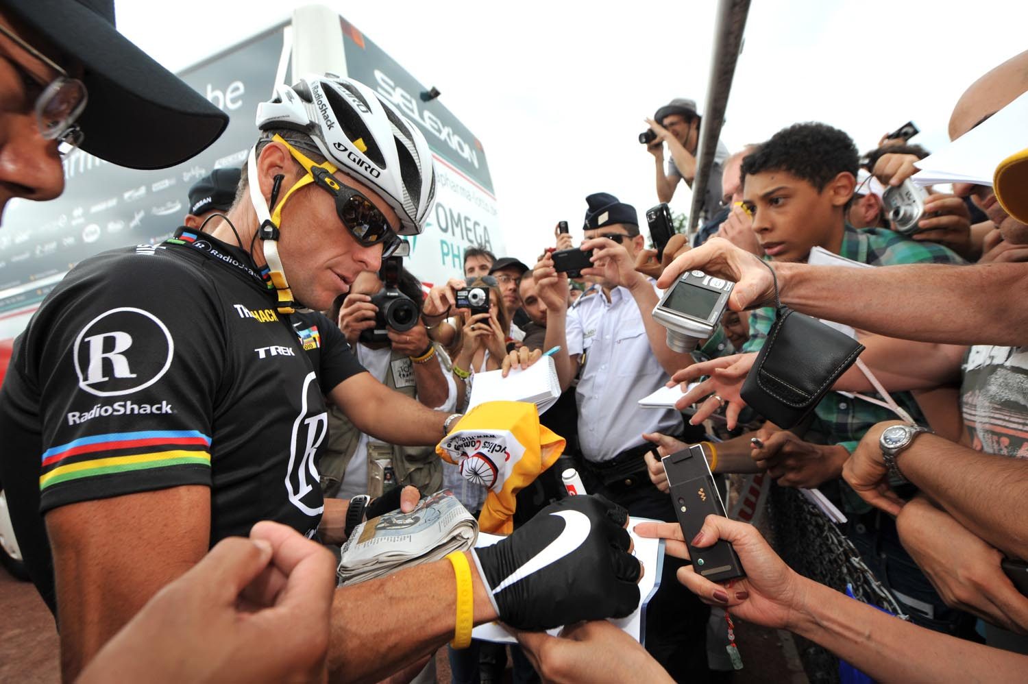 Lance Armstrong, Tour de France 2010, stage 20