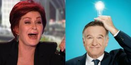 How Robin Williams Helped Sharon Osbourne Get Through Her Cancer Treatment