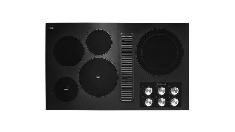 KitchenAid KCED606GBL Electric Downdraft Cooktop review