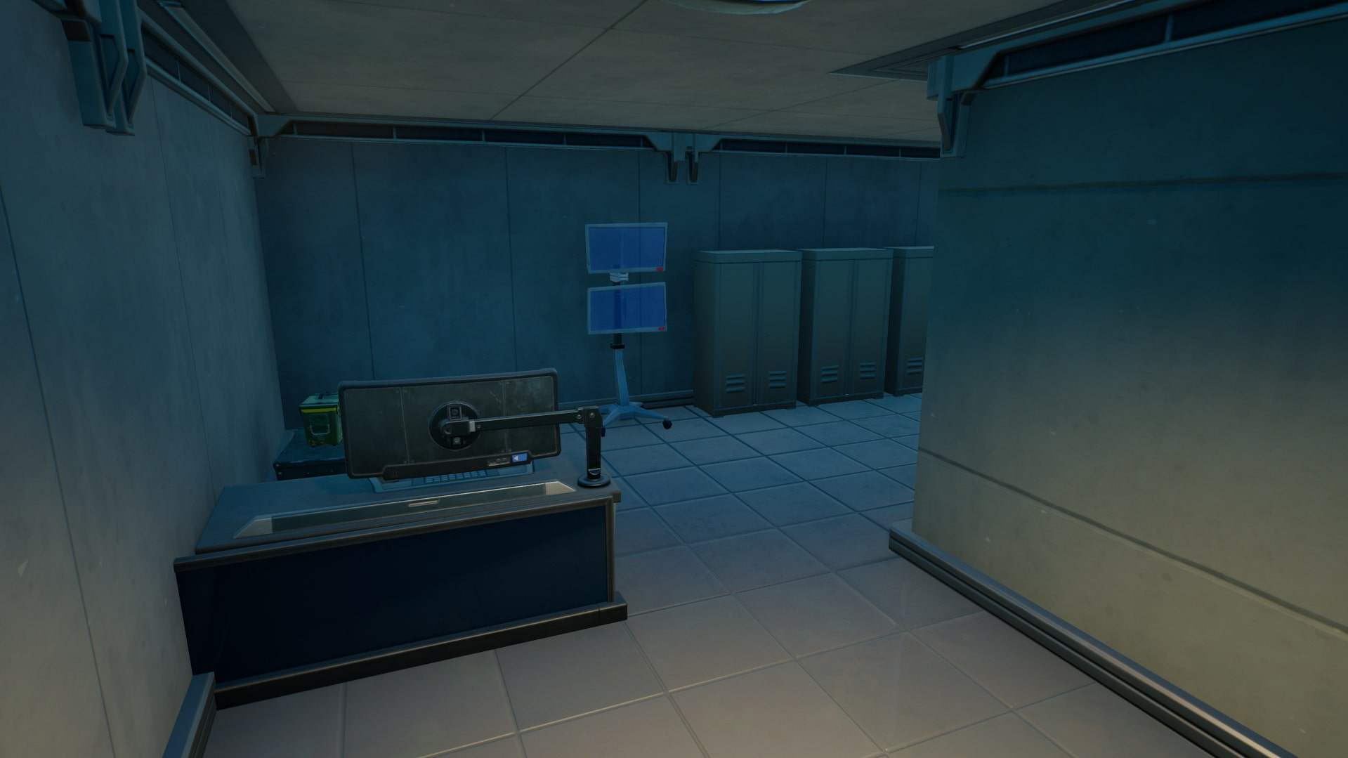 IO Equipment in the corner of one base