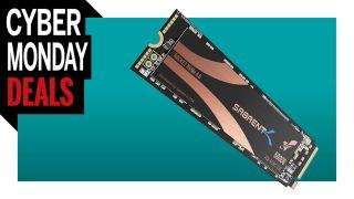 Sabrent 500GB Rocket Nvme PCIe 4.0 M.2 cyber monday deal