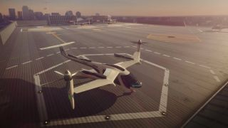 Uber has teamed up with NASA to develop flying cars for passenger transport.